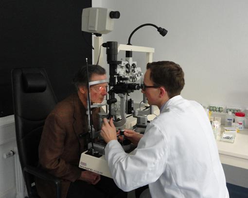 Glaukom-Untersuchung